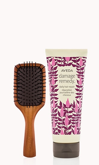 Mini Paddle Brush & Damage Remedy Daily Hair Repair